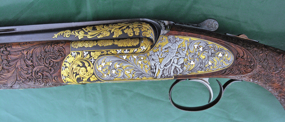 Joe Rundell Engraved Sabatti Shotgun