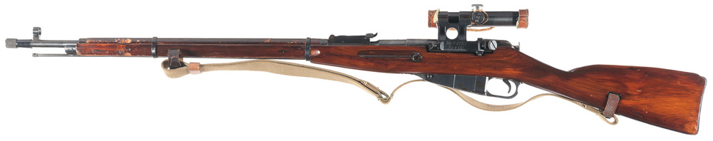 Russian Mosin-Nagant Model 1891/30 Sniper Rifle