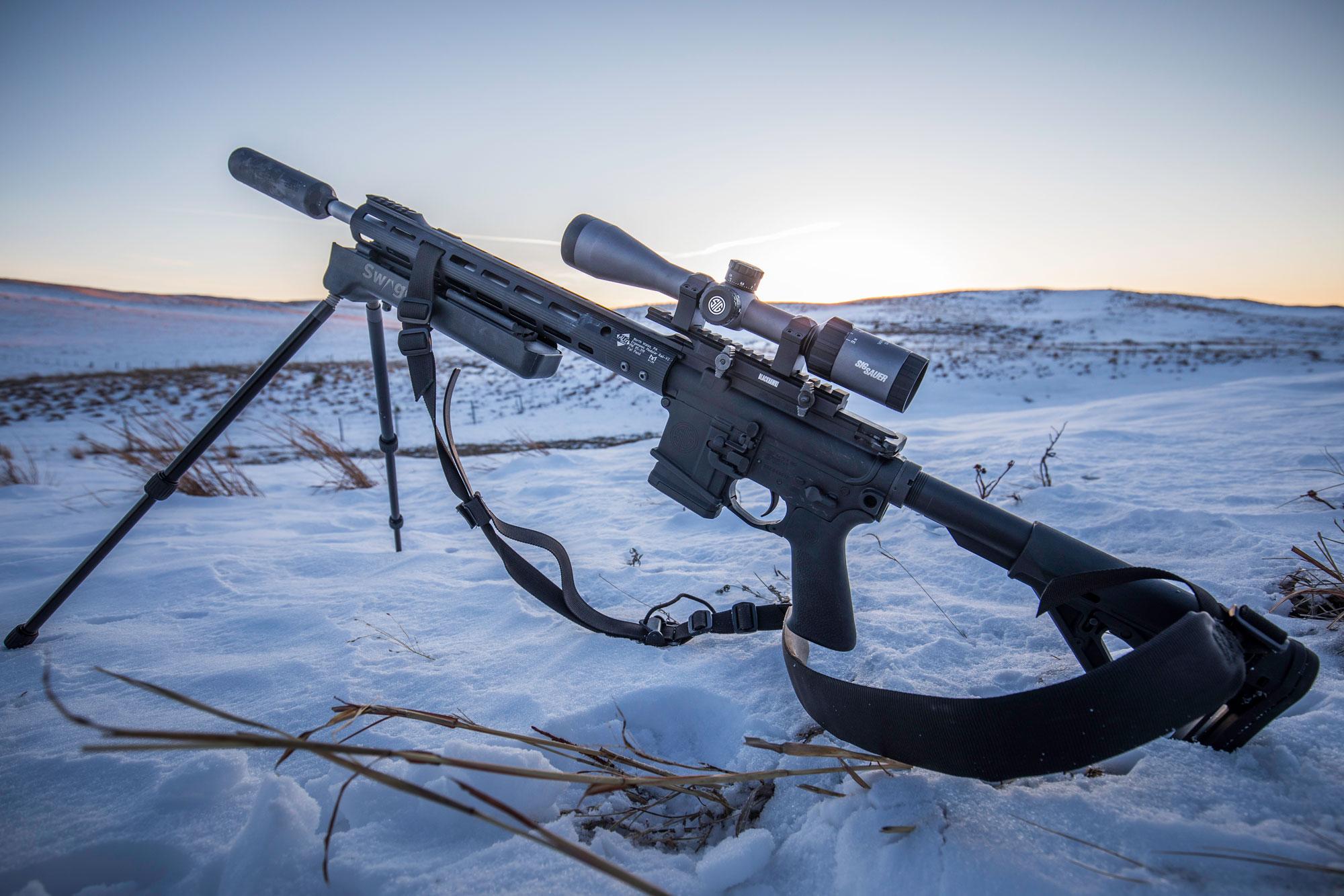 Ultimate Predator Rifle setup - SIG M400 Predator