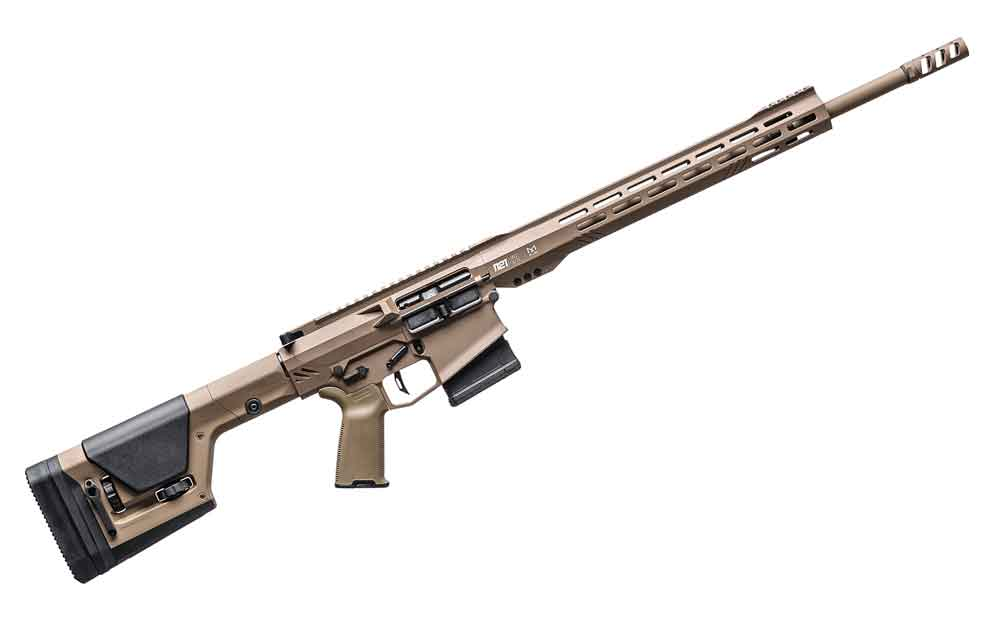 RISE Armament 1121XR, when it comes to 6.5 Creedmoor Rifles it's among the fastest shooters