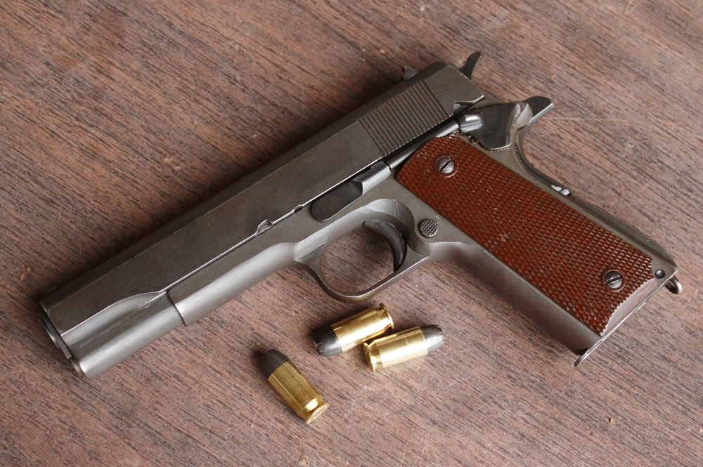 A match made in heaven, the .45 ACP and M1911.