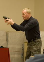 Deadly Force: You need to be in immediate fear of bodily harm.