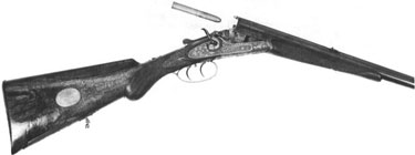 Sauer & Son single barreled rifle, circa 1885