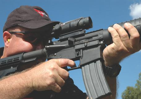 Trijicon's ACOG is the only sight of its type, and very popular on M16 and AR-15 rifles.