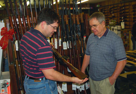 Today's old gun markets have almost everything for the gun collector.