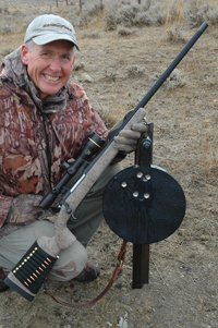 Author banged this gong repeatedly from 540 yards with a Leupold/Greybull scope on a .243.