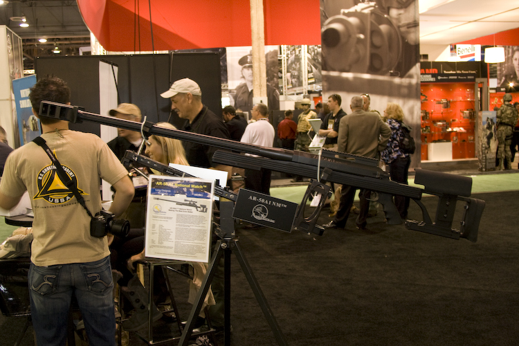 Armalite rolled out a new National Match version of its popular AR50 at SHOT Show 2011.