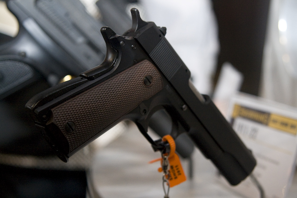 Browning debuted its 1911-22 at SHOT Show 2011. Photo by Corey Graff
