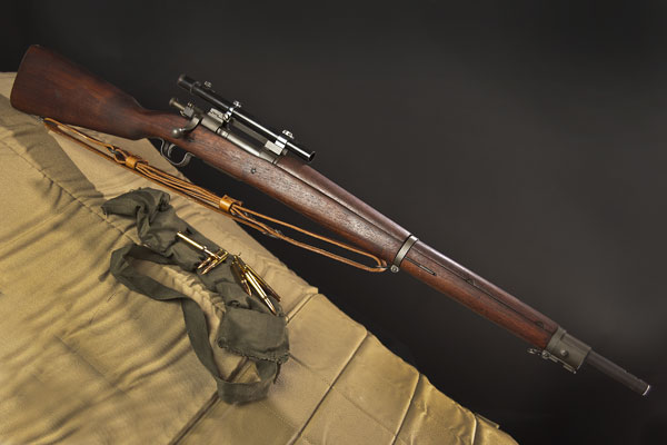 Gun Digest looks at the Springfield M1903-A4 Sniper Rifle