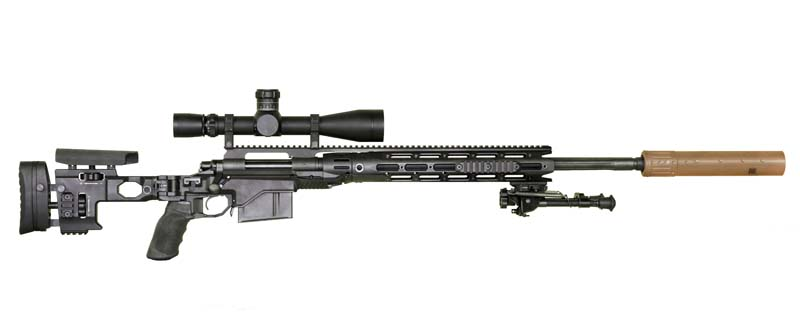 Remington XM2010 Sniper Rifle.