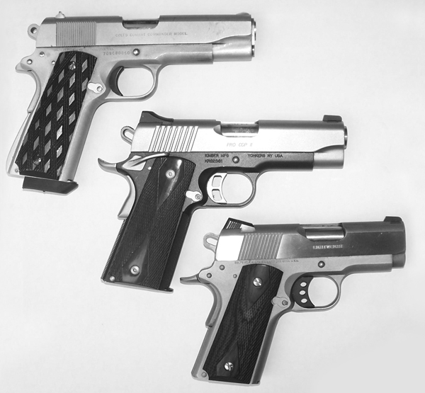 Commanders, Defenders and Officers Model 1911s | Gun Digest
