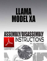 Llama Model XA Assembly/Disassembly Instructions Download