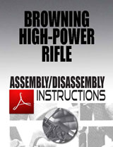 Browning High-Power Rifle Assembly/Disassembly Instructions Download
