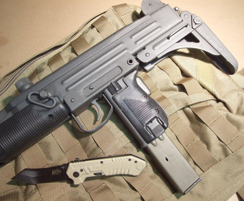 The Century International Arms UC-9 Uzi.