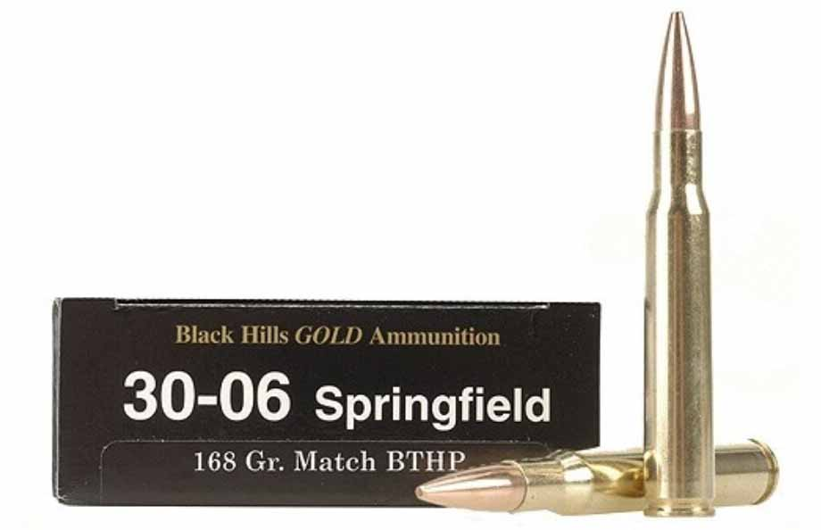 30-06 Ammo Black Hills