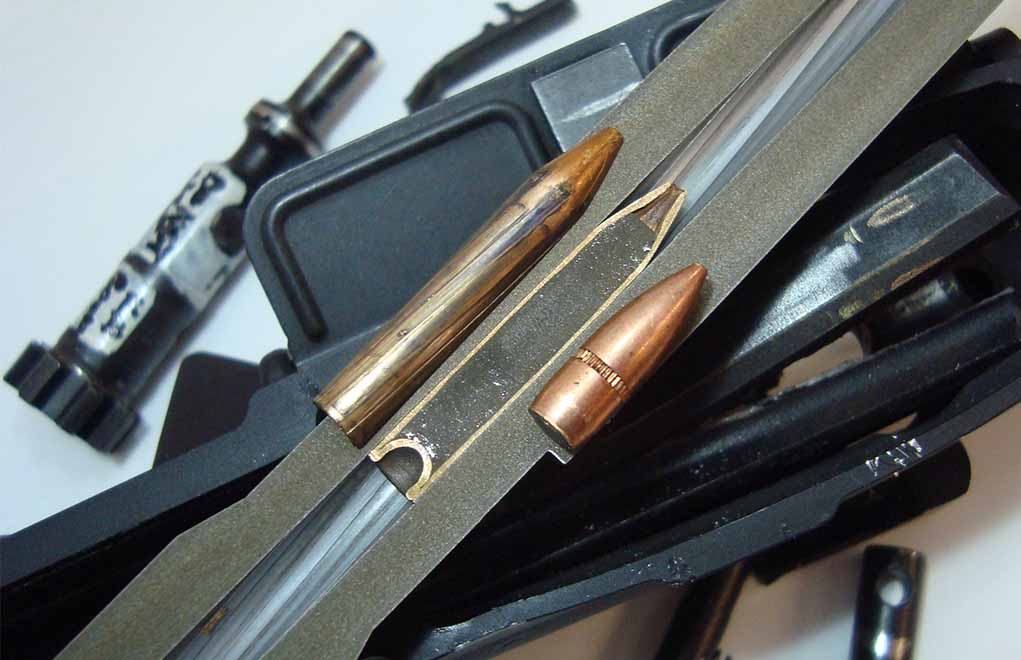 Be warned, if you have both calibers, the 300 Blackout will chamber in a 5.56 ... not good.