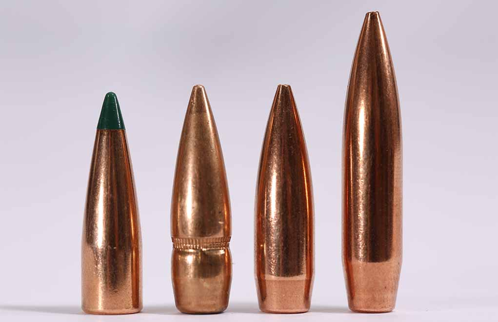 The range of bullets the .300 Blackout and Whisper can digest is impressive. From a 110-grain soft point to a 240-grain match boat tail, you can load anything that will fit the chamber and throat.