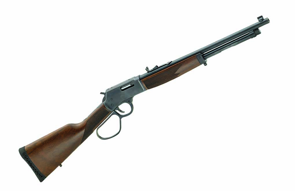 Currently, Henry is the only company offering a rifle chambered for the .327 Federal Magnum. It will also cycle and fire .32 H&R Magnum and .32 Long ammunition.