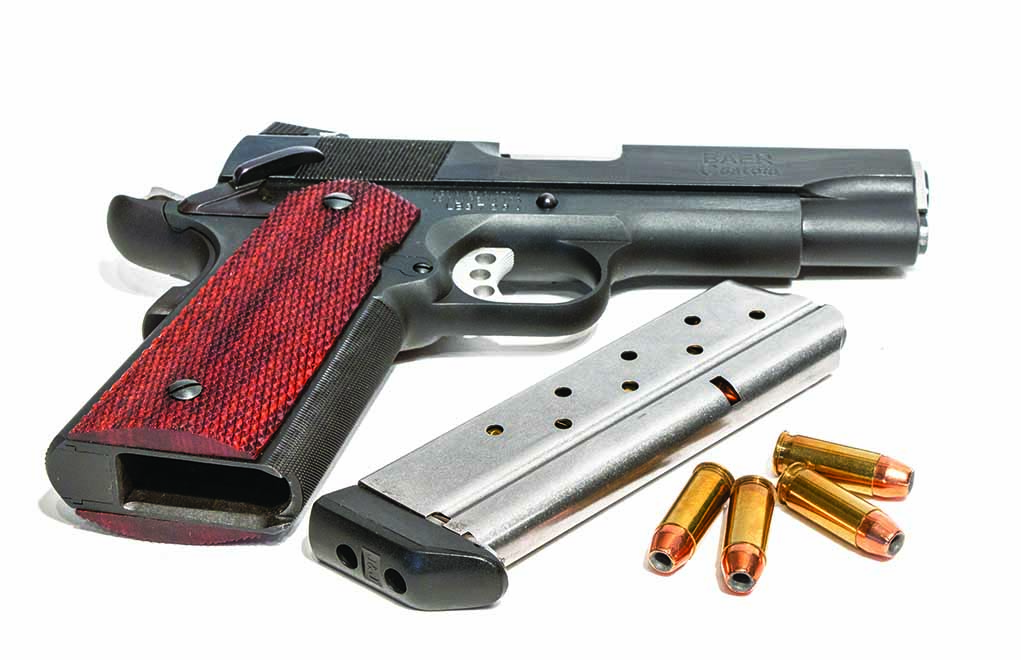 Although you'll be hard pressed to find one under the glass at your local firearms emporium, 1911s chambered for the .38 Super are still available.