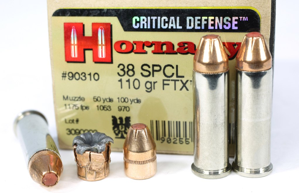 The Hornady Critical Defense line is meant to offer good performance without beating up the shooter. Don't fault it for that.