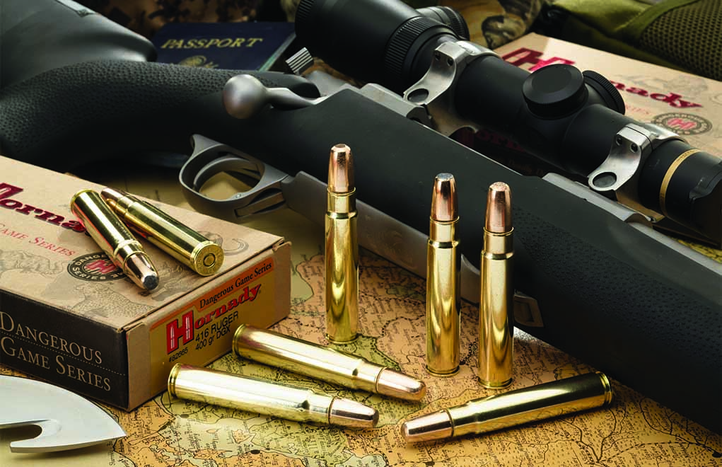 Affordable and effective, the .416 Ruger will cleanly take any and all game animals. Definitely a dandy .40-caliber.