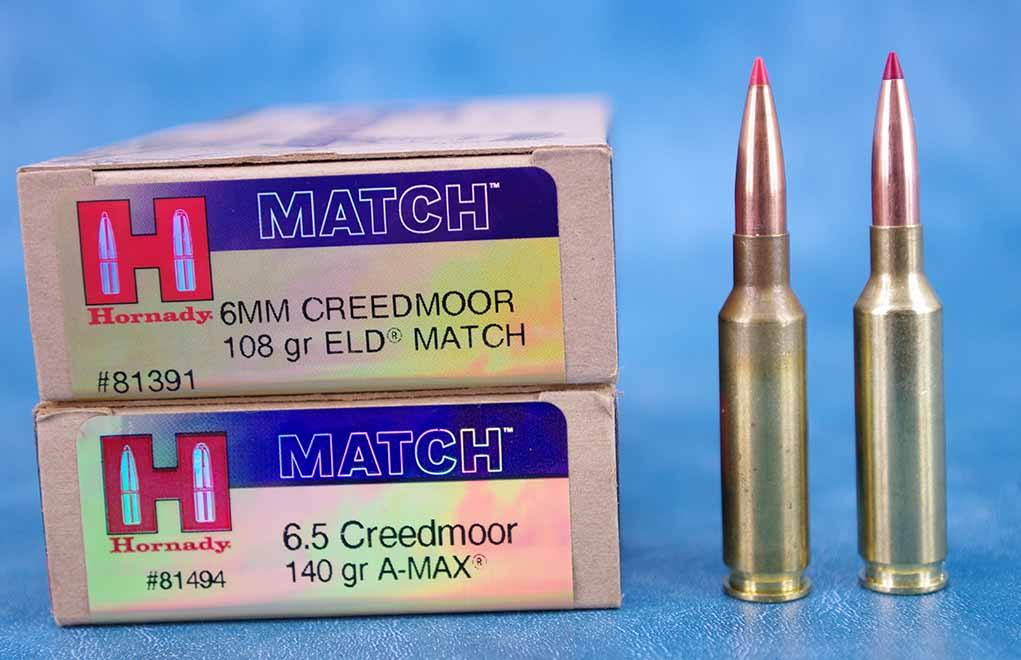 In production-grade sporting rifles, no other commercial cartridges are as accurate as the Creeds.