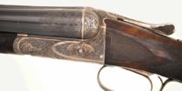 This XE model circa 1916 shows off the intricate engraving and checkering patterns of the skilled Fox workers.