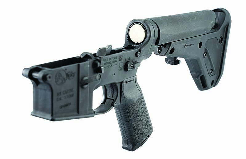 AR-15 Accessories. The ultra-strong Magpul UBR Gen2 is a perfect companion for the Vltor A5 system.