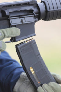 The AR15A4 comes standard with a 30-round Magpul magazine. Patrick Hayes Photo