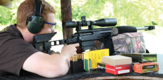 During testing, all of the four brands of ammo performed well with the ultra-accurate AR-30A1.