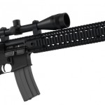 The Barnes Precision DMR or Dedicated Marksmanship Rifle.
