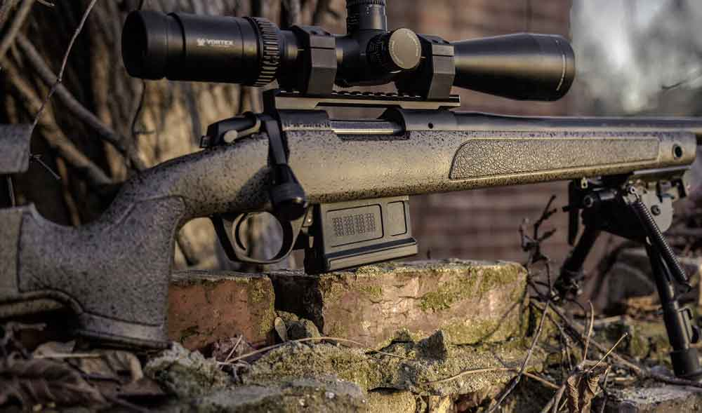 Bergara B-14 HMR a more traditional choices among