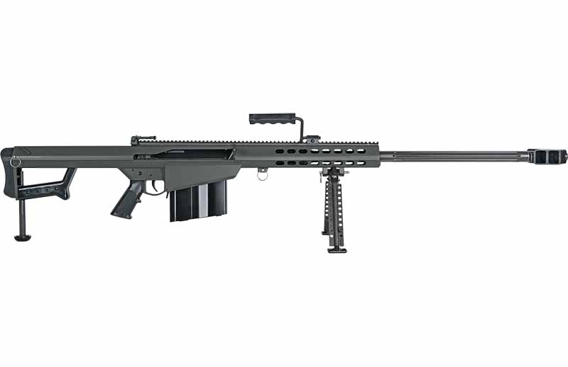 Barret's M82 has had a long, strange career in the military. With some the longest recorded kills to its name, the rifle has become a legend. Though orignially taking out enemy combatants was never its aim.
