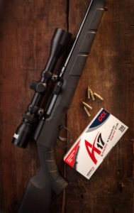 The Savage A17, .17 HMR semiauto rifle.