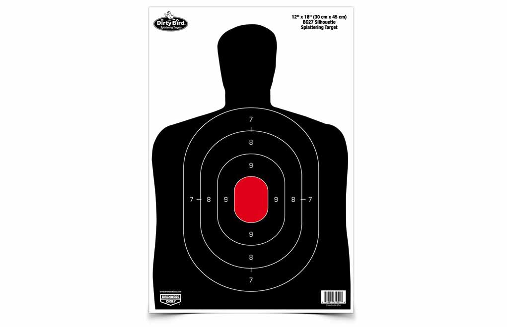 Birchwood Casey Dirty Bird Sil Shooting Target