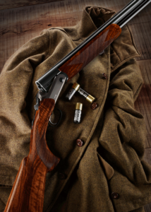 Blaser's new F16 features a lowered receiver, making it easier to handle and opening up a shooter's field of vision.