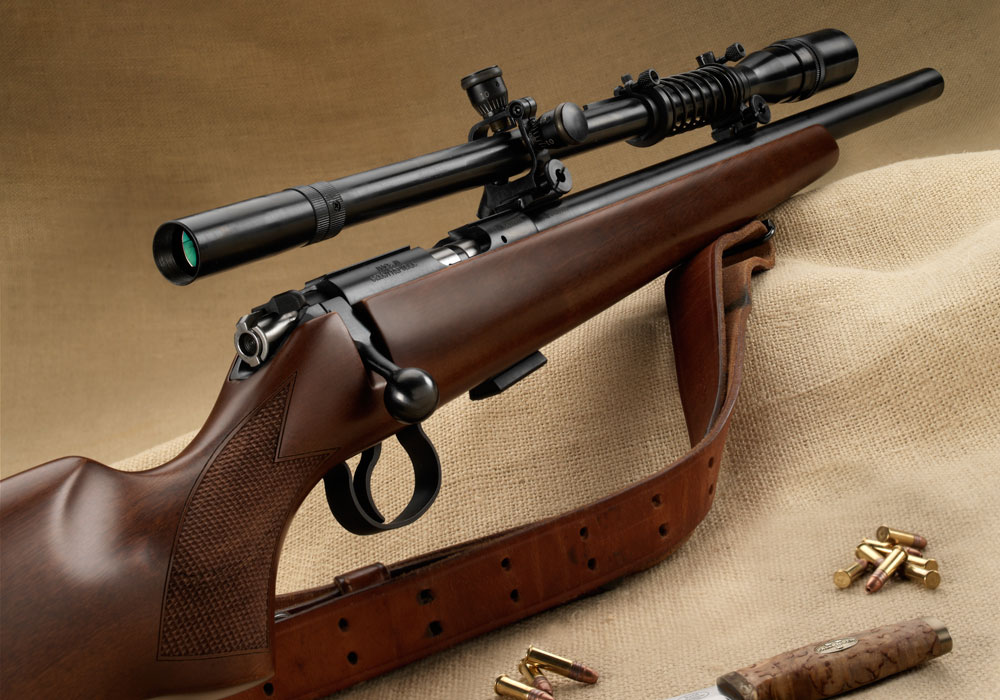 The CZ455 .22LR is a tack-driver right out of the box. With the addition of the Leatherwood USMC 8x Sniper Scope, it becomes a real beauty reminiscent of the target rifles of the 1950s and '60s. Photos by Kris Kandler.