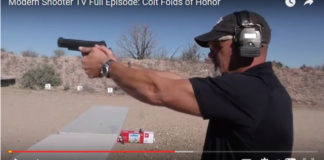 Colt Folds of Honor on Modern Shooter TV!