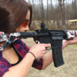 The AR-15 rifle in .223/5.56 is an excellent rifle for woman shooters thanks to its compact size and light recoil. Patrick Hayes Photo