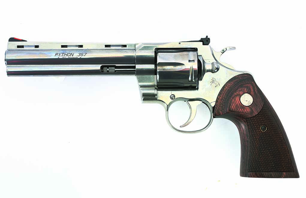 "The Colt Python is back—and it's badder than ever! Well, in most respects, it's actually ""gooder"" than ever."