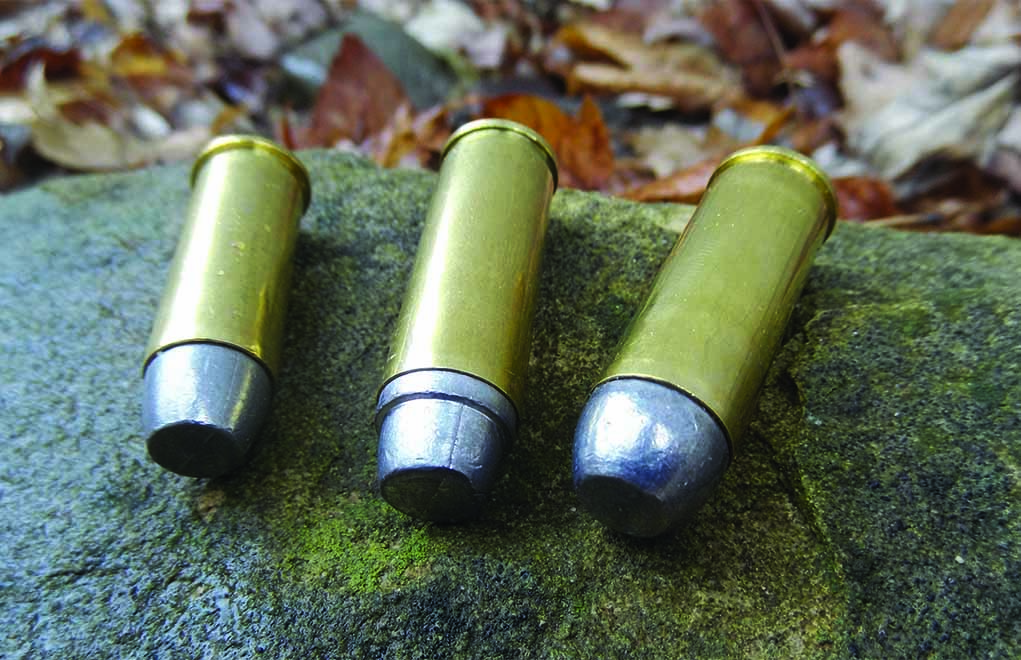 Typical loads fired in the SAA and clones are lead and not jacketed. While jacketed bullets can be used, traditional calibers such as .45 Colt and .44 Special tend to do best with traditional bullet profiles.