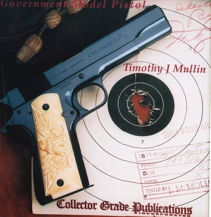 "If you enjoy fine firearms, says Ayoob, you'll enjoy reading ""American Beauty"" by Tim Mullin. NM's gorgeous finish is evident even in this ""photo of a photo."""