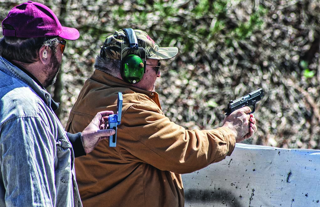 Fast and accurate shooting applies to both competition and self-defense. However, an overly conditioned competitor might very well make tactical mistakes that could be very costly in a real fight.