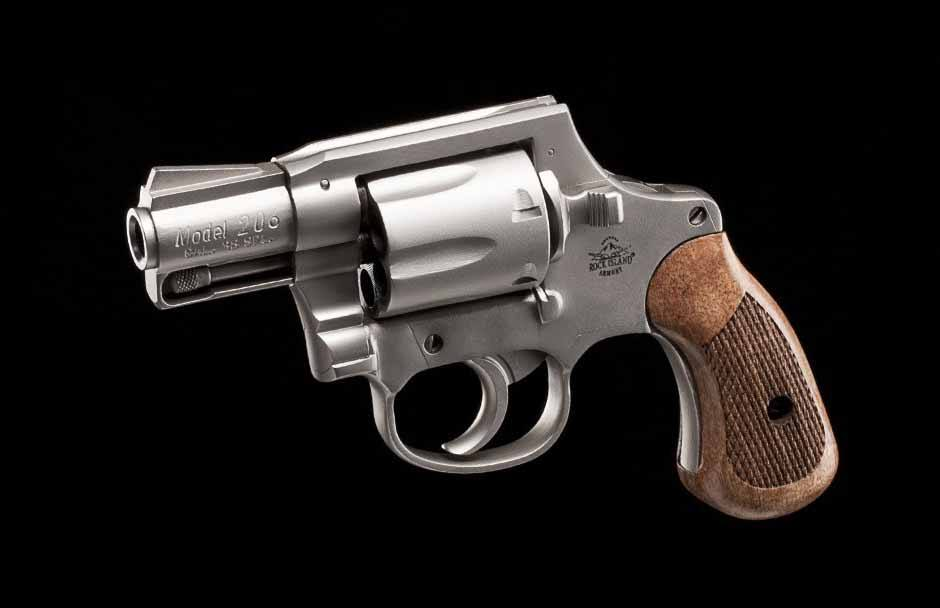 Concealed Carry Revolver Rock Island M206