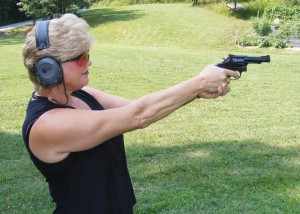 Training should always be done with the gun and holster you plan to carry on a daily basis. Author Photos