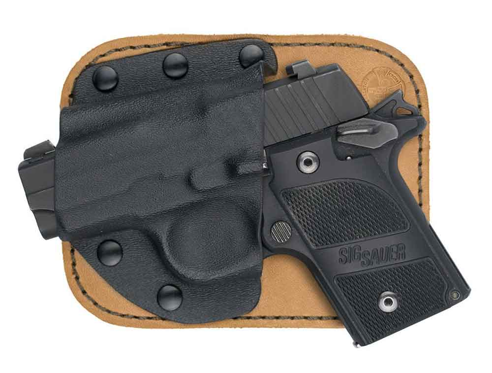 Best Concealed Carry Holster: Crossbreed's Pocket Holster.