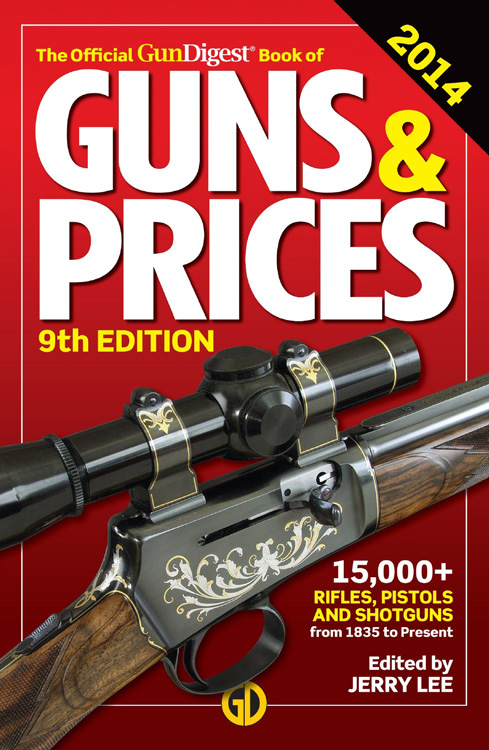 NEW! Gun Digest Book of Modern Gun Values by Phillip Peterson [Paperback] [18th]