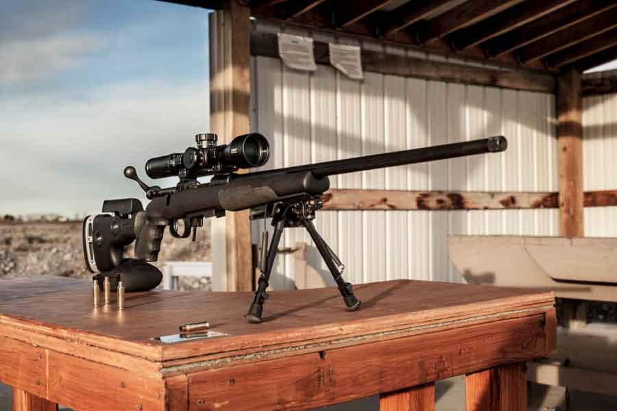 Savage's new precision rifle the Model 10 GRS