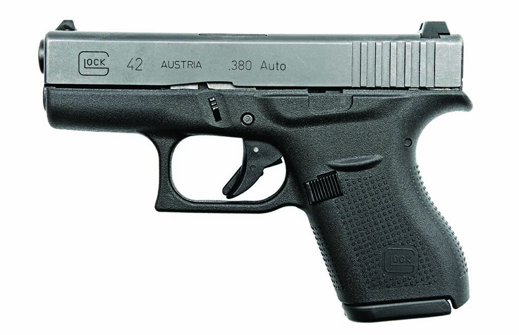 Glock's new G42 in .380 ACP is a winner for concealed carry.