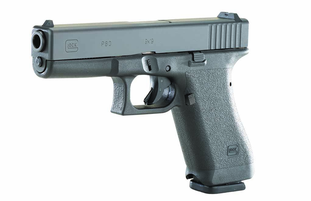 The P80 is not an exact replica of the Pistole 80, and it is very similar to the G17 Gen 1.
